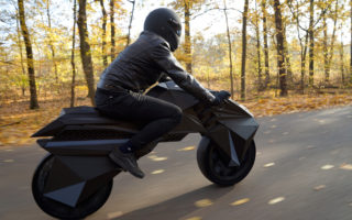 The world's first fully 3D printed electric motorcycle